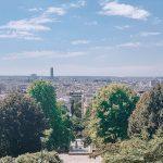 The highest park in Paris: Parc de Belleville