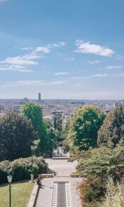 The highest park in Paris: Parc de Belleville