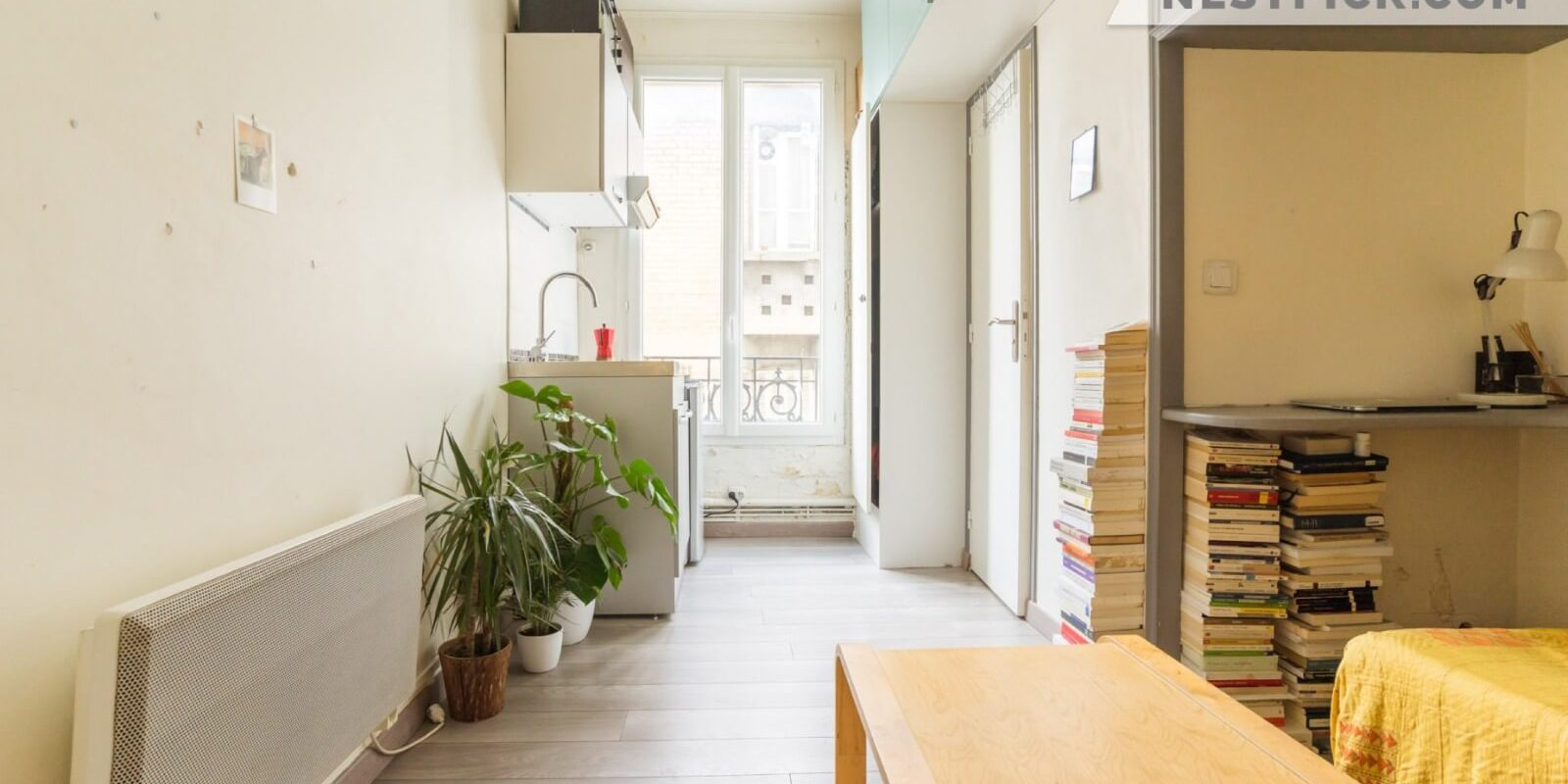 My tiny apartment studio Paris