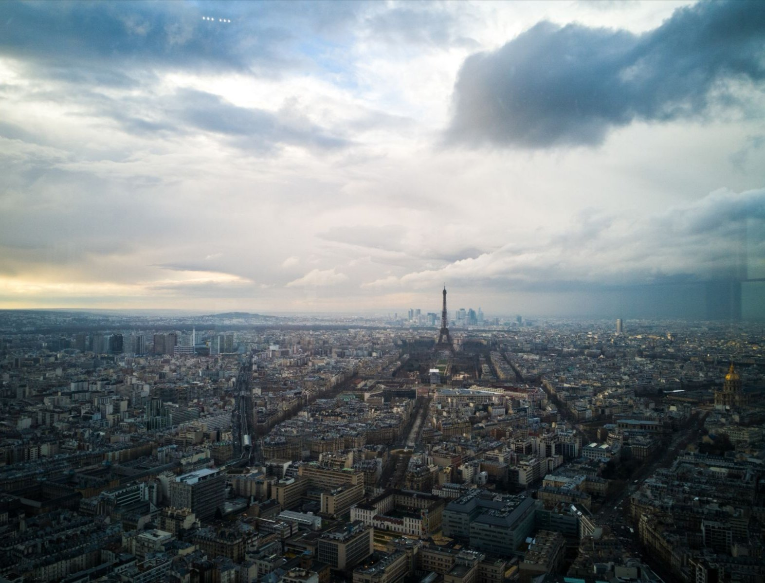 Paris, as seen from Tour Montparnasse