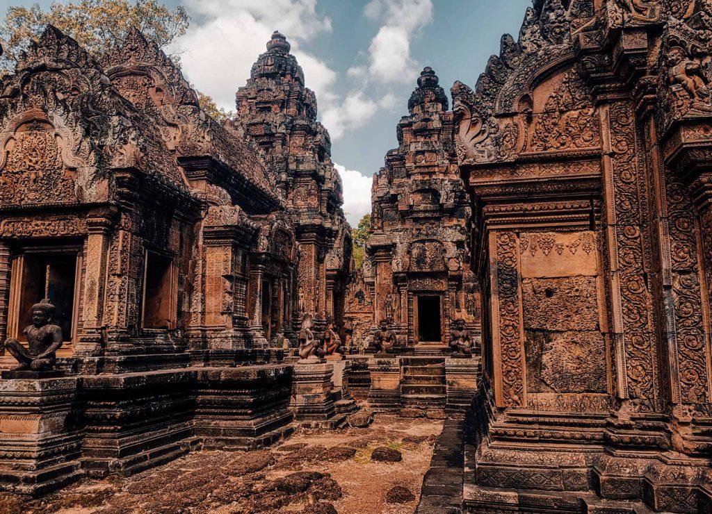 Banteay Srei temple in Siem Reap Cambodia