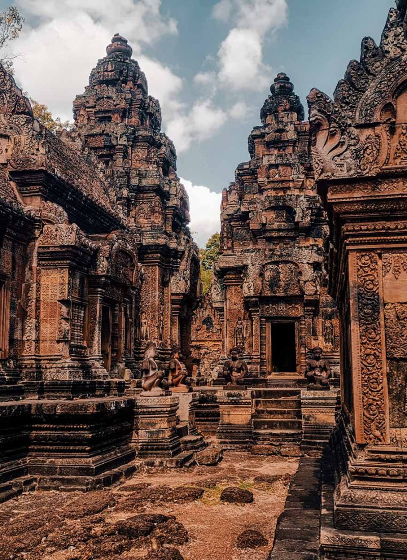 Banteay Srei lady temple in Siem Reap Cambodia