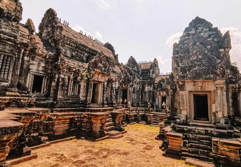 Banteay Samre temple in Siem Reap Cambodia
