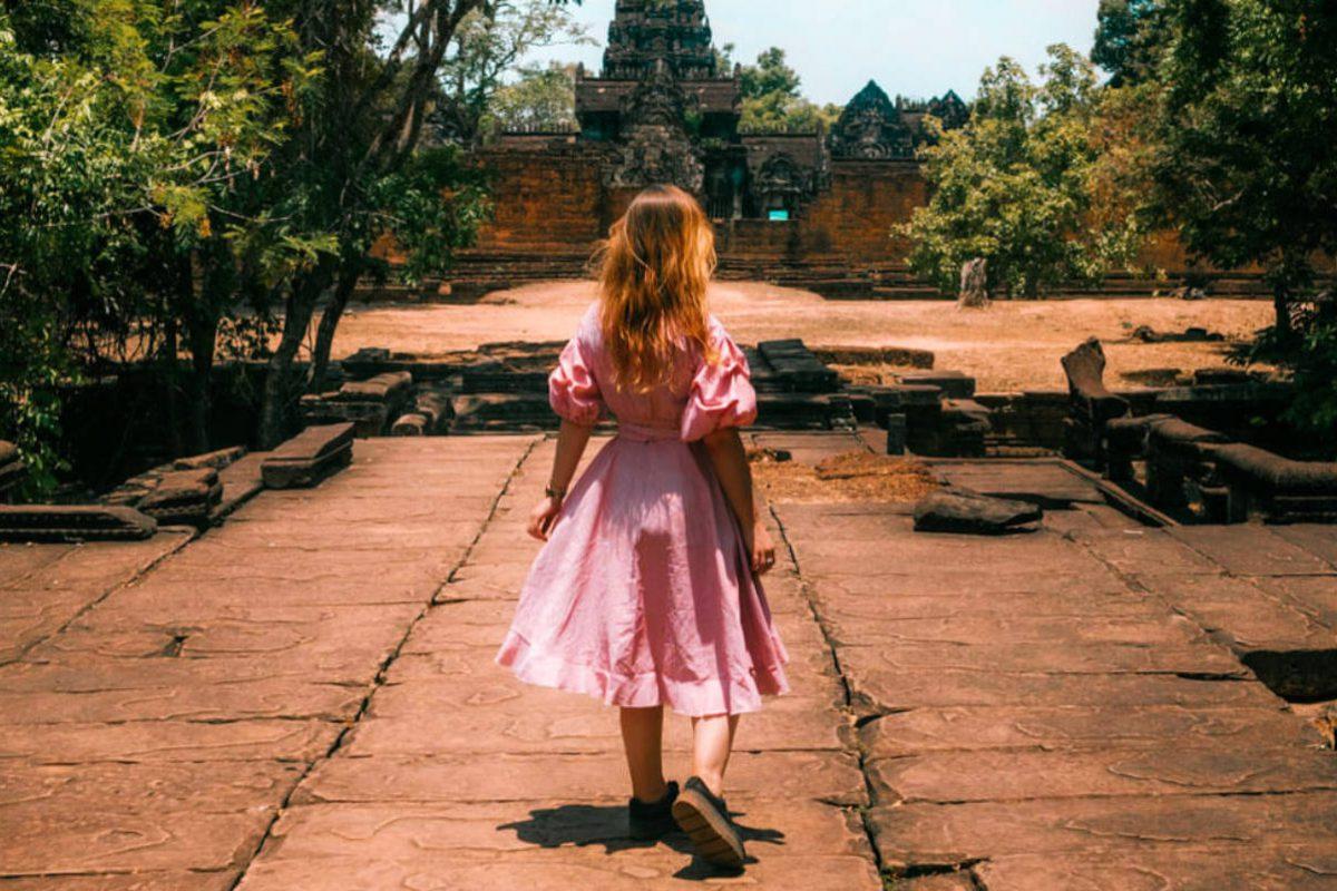 Celine in Cambodia