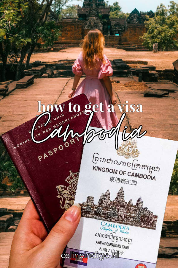 Pin this post! How to get a visa for Cambodia