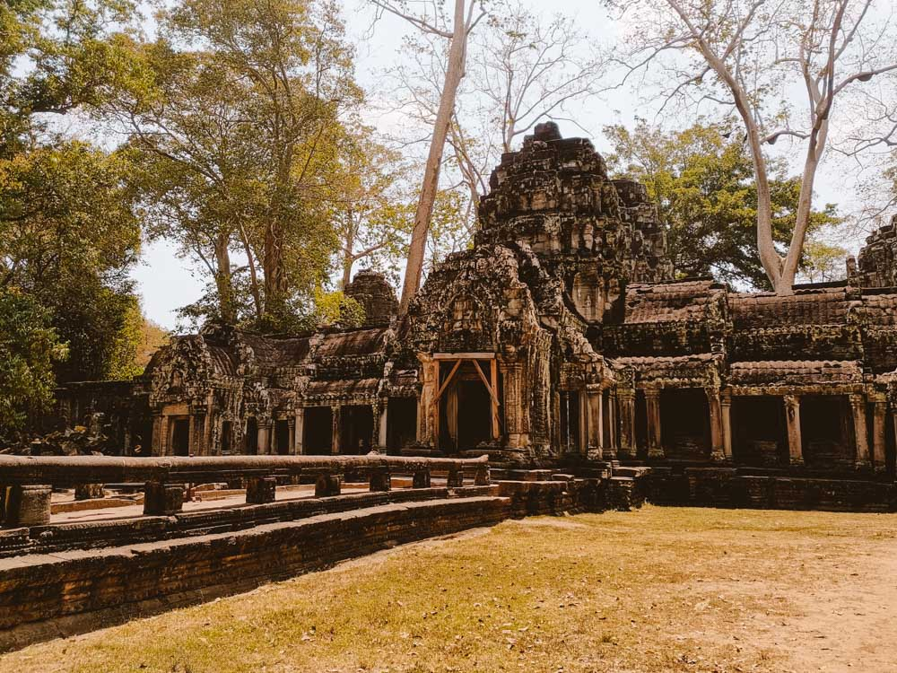Ta Promh one of the The 10 most beautiful temples of Angkor