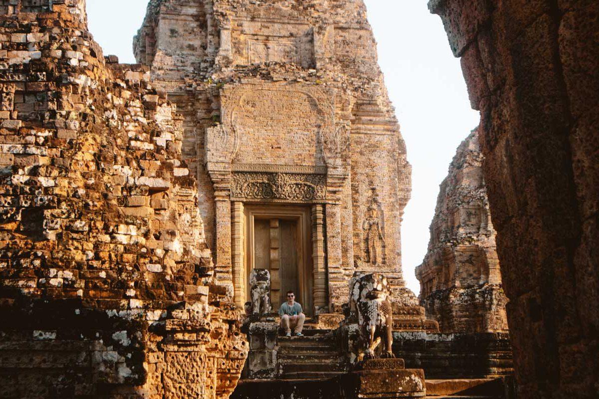 Prasat Pre Rup temple in Cambodia