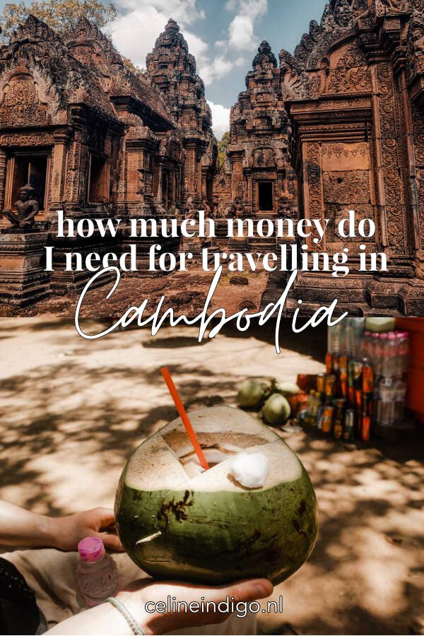 Pin this post! How much money do I need for travelling in Cambodia?